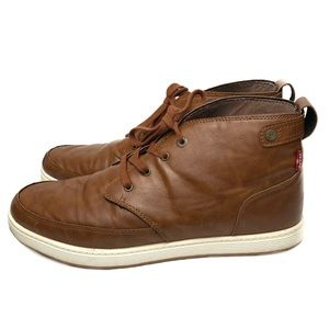 Levi's HiTop Sneakers Brown Size 13